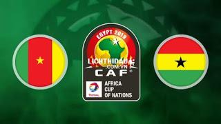 ملخص اهداف مباراة الكاميرون وغانا  بتاريخ 29-06-2019 كأس الأمم الأفريقية