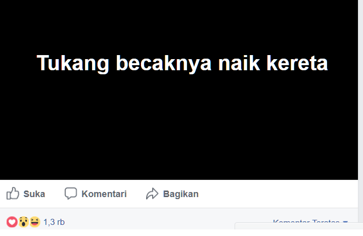 Status facebook 2