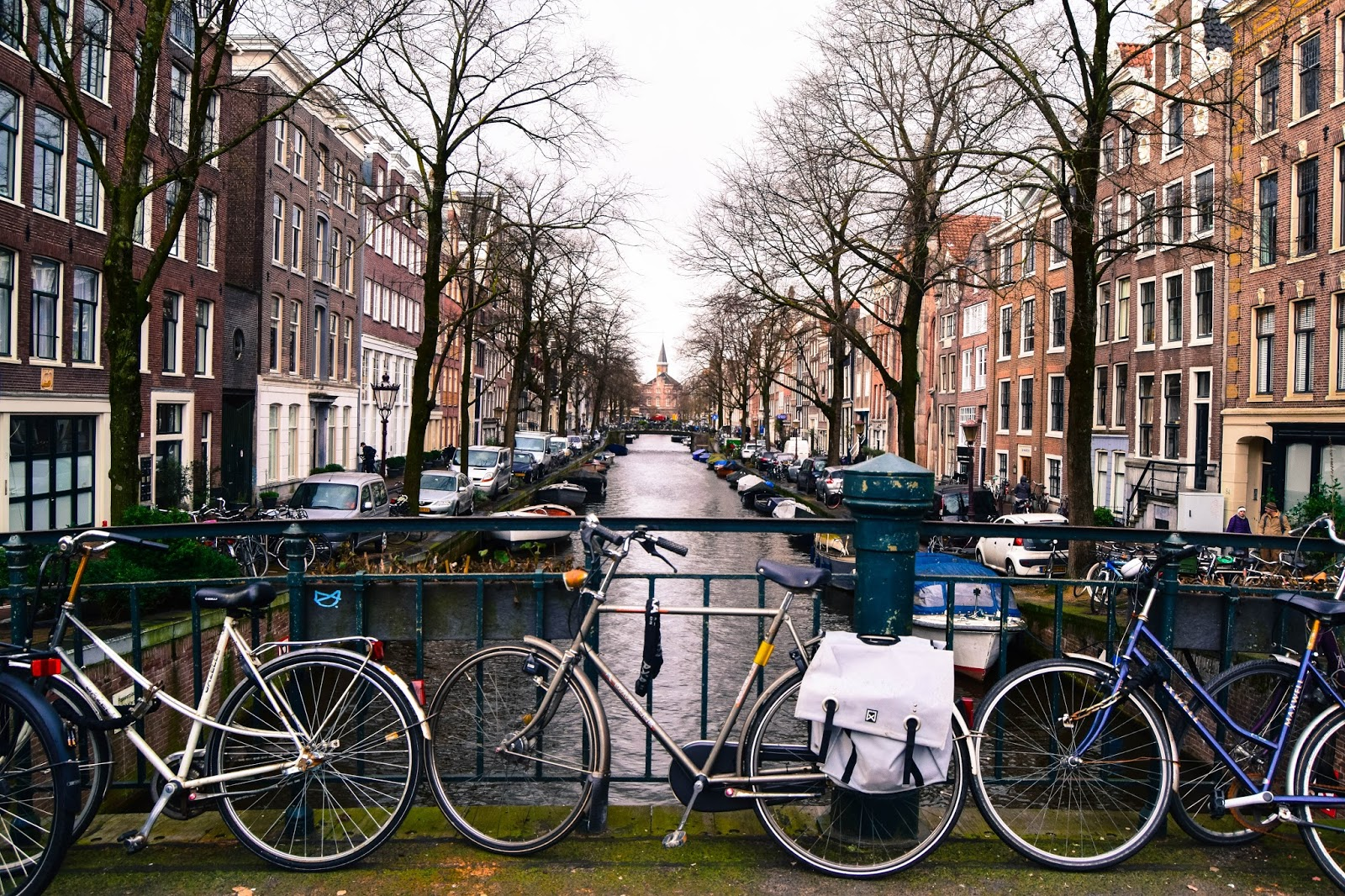 Amsterdam in January