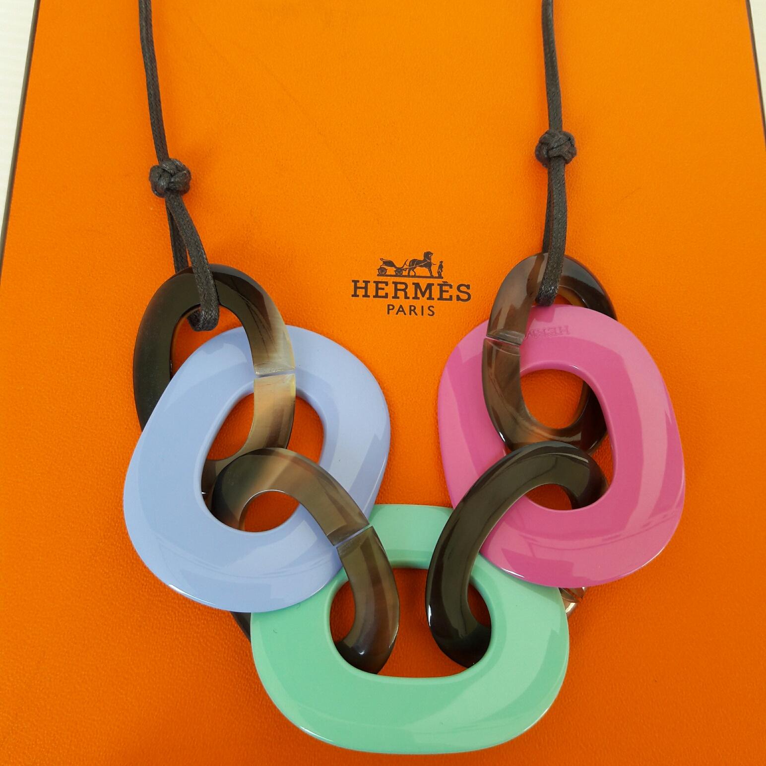 Satchi Hermes Karamba Necklace