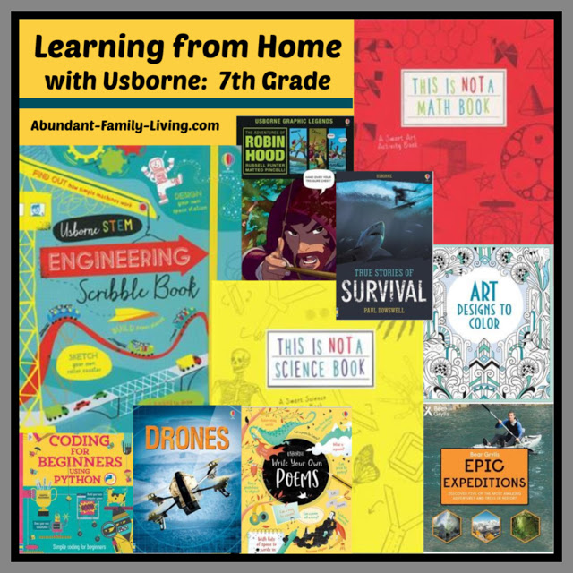 Learning at Home With Usborne - 7th Grade