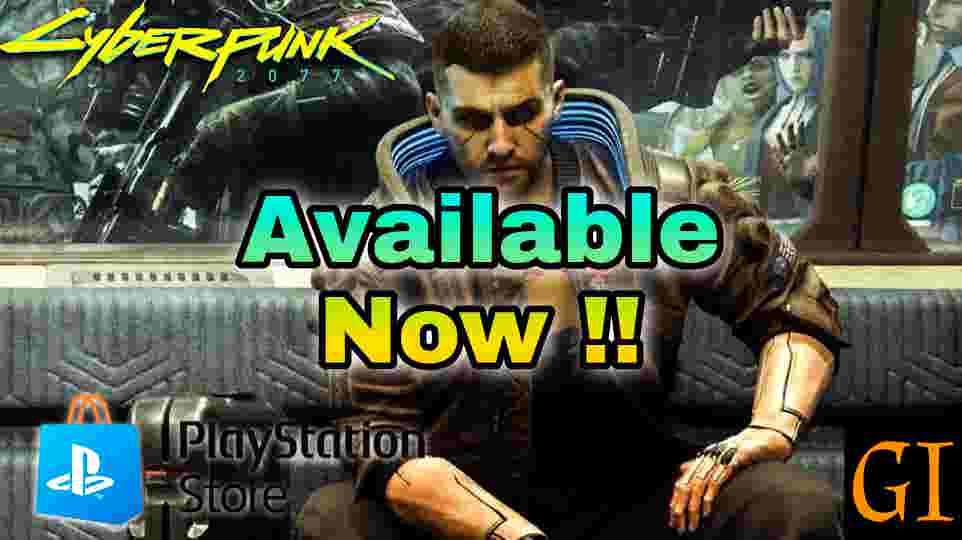 cyberpunk 2077 on playstation store