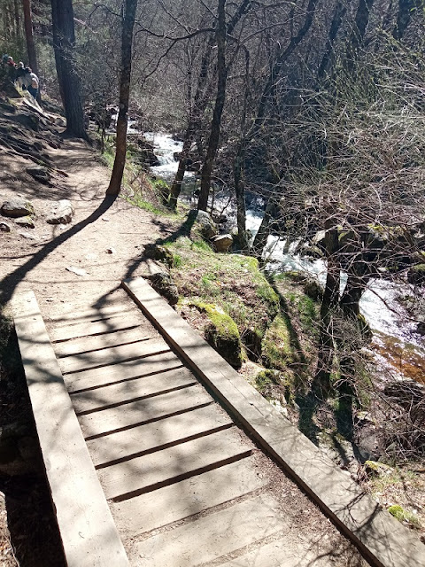 Hay varios puentes a lo largo del sendero