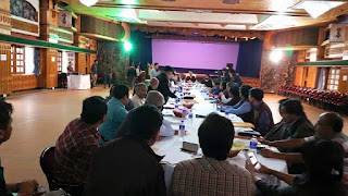 Gorkhaland Territorial Administration meeting in darjeeling
