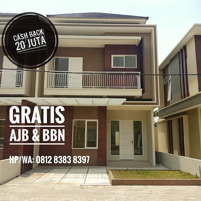Jual Rumah mewah, aman, tenang di tengah kota dekat Carrefour Padang Bulan Medan Sumatera Utara