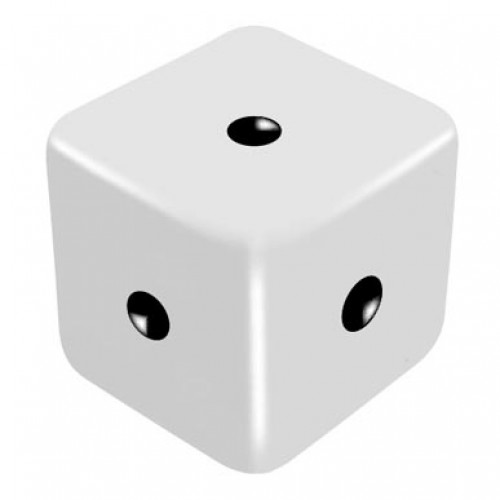 One Dice, One Symbol and Meaning