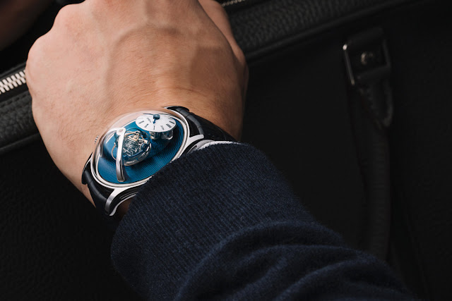 MB&F Legacy Machine Thunderdome, The Hour Glass Edition