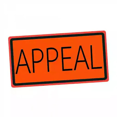 Appeal in court