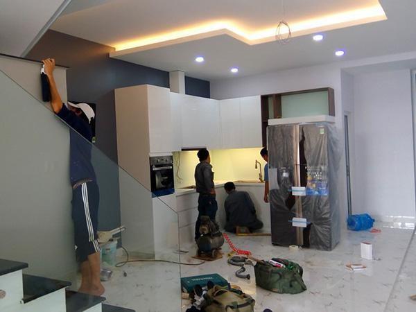 sơn sửa lại căn hộ chung cư giá rẻ tại Quận 8