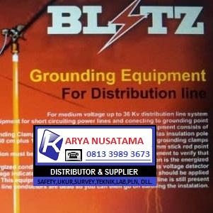 Ready Stok Grounding Tegangan 150KV Merk Blitz di Depok