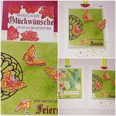 Double Slider Karte zum Geburtstag in Rot- und Grüntönen Stampin' Up! www.eris-kreativwerkstatt.blogspot.de