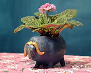 pinch pot planter