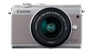 Daftar 5 Kamera Mirrorless Murah Terbaik 2021 1. Canon EOS M100