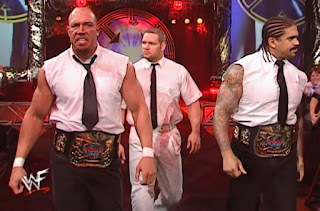 WWE / WWF Survivor Series 2000 - Right To Censor teamed with Edge & Christian to face The Hardyz & The Dudleyz