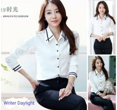 Style Kemeja Putih Wanita