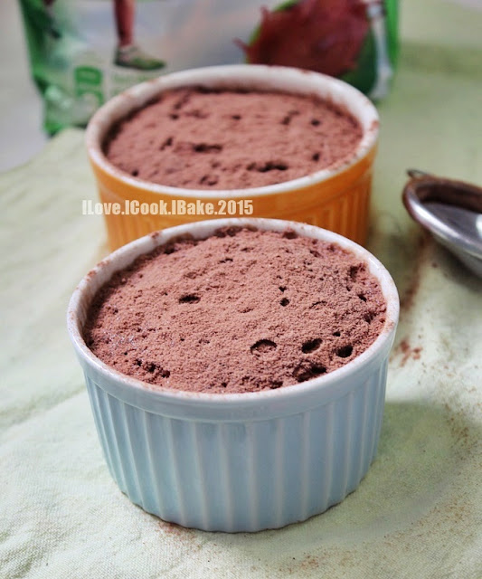 Microwave Milo Mug Cake - 2 Recipes