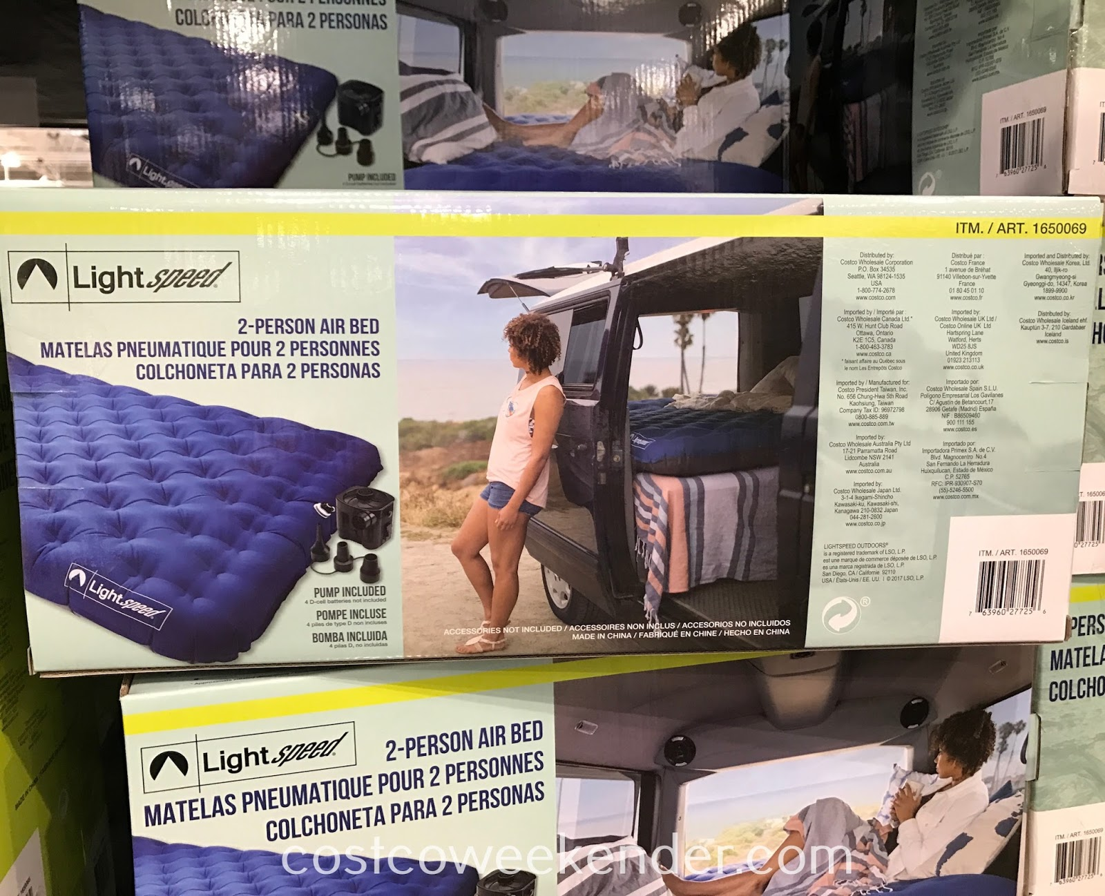Lightspeed Outdoors 2-person Airbed: great for camping, sleepovers, and out of town guests