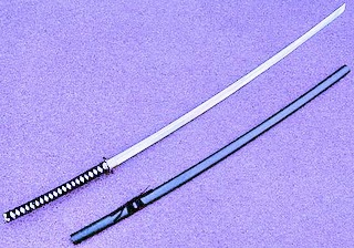 pedang samurai