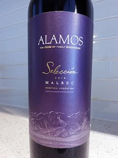 Alamos Selección Malbec 2018 (89 pts)
