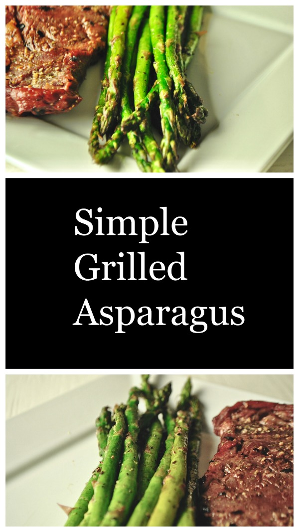 Perfectly seasoned asparagus with that smoky grilled flavor.