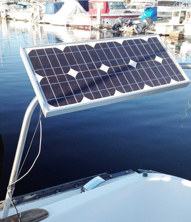 Solar Panel Array Wiring Diagram Electrical Installation Captain Curran S Sailing Blog Panels For Boats An Easy 2018 Boat Insurance Guide