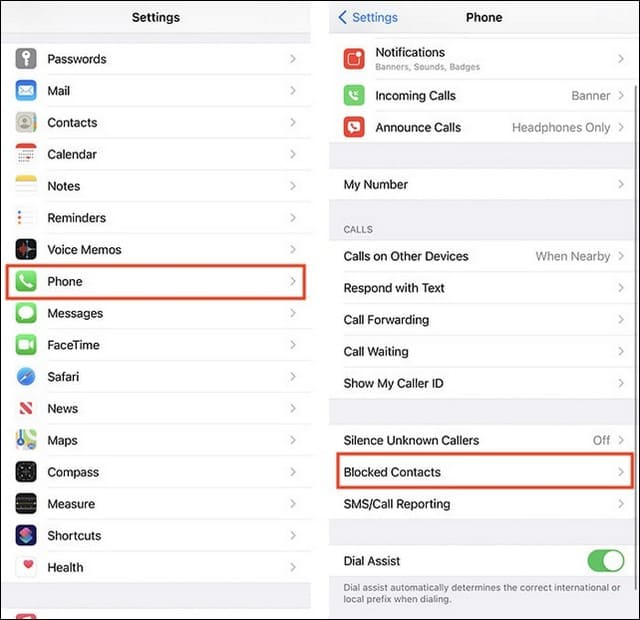 How to Unblock a Phone Number on iPhone