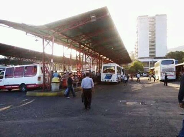 Terminales terrestres de Caracas se preparan y anuncian nuevas tarifas.