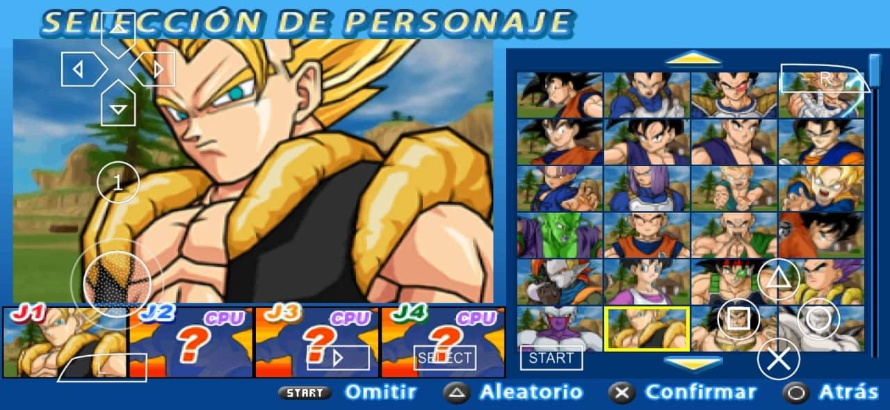 Dragon Ball Z Budokai Tenkaichi 3 Mod PPSSPP