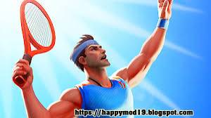Hey Wassup inwards this ship service nosotros are going to portion alongside y'all i Modded Apk which is real popula Tennis Clash: 3D Sports MOD APK 1.7.1 + Data Obb For Android