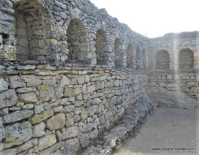 restos romanos de Segóbriga en Cuenca