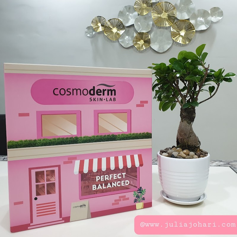 Cosmoderm Perfect Balance produk kosmetik terbaru kini berwajah pink!