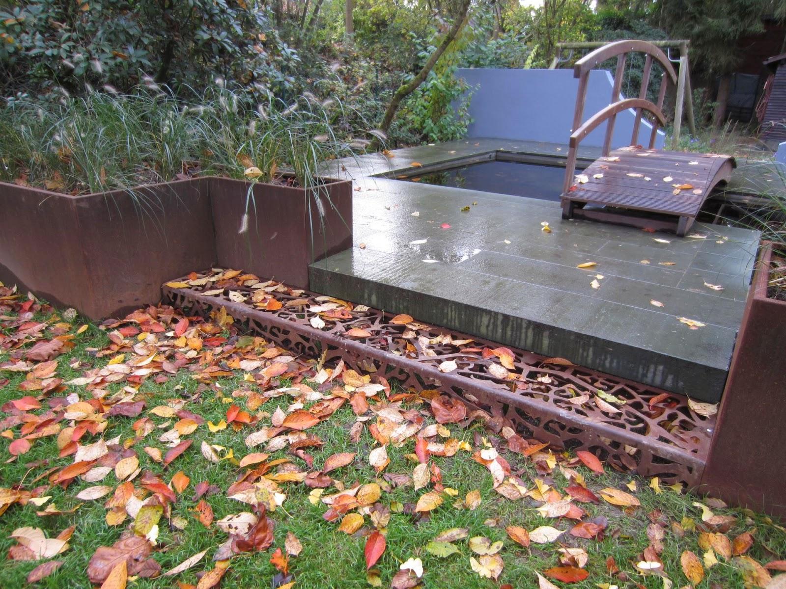 Cortenstahl Patinax Im Garten Fröbel Metallbau