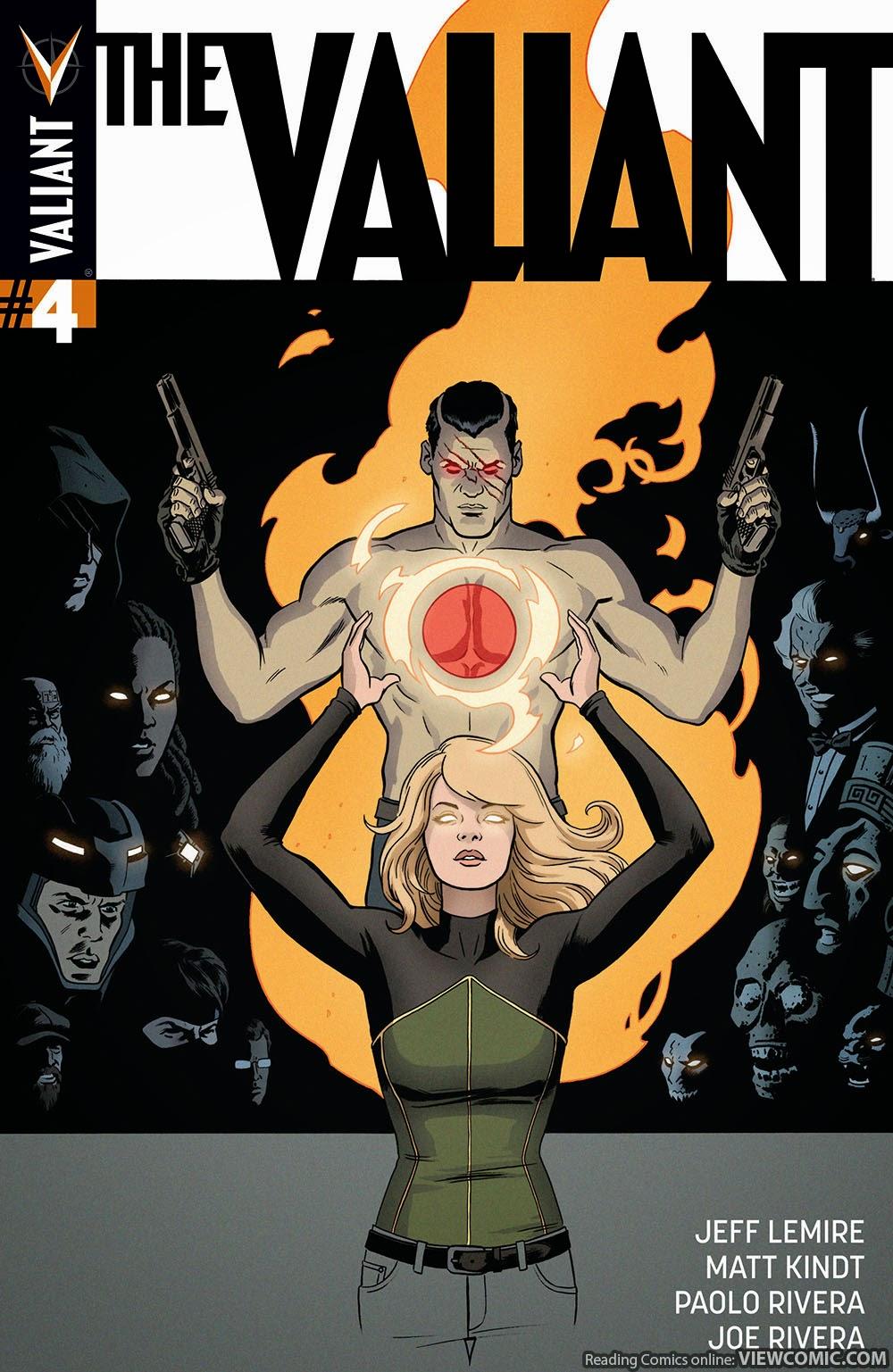The Valiant 004 (2015) …………… ……………… | Viewcomic reading