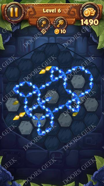 Gems & Magic [Indigo] Level 6 Solution, Walkthrough, Cheats