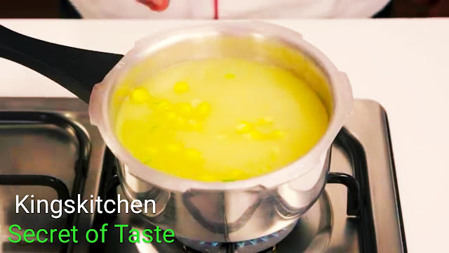 Sweet corn soup kingskitchen secret of Taste