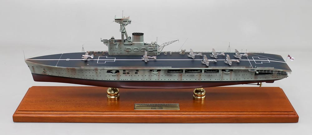 HMS Hermes (95) Aircraft Carrier Model