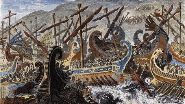Όταν οι Έλληνες νίκησαν τους Πέρσες στη Σαλαμίνα