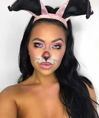 scary vampires and many scary creatures ✘ 21 Latest Classic Bunny Makeup For Halloween To Copy In 2020