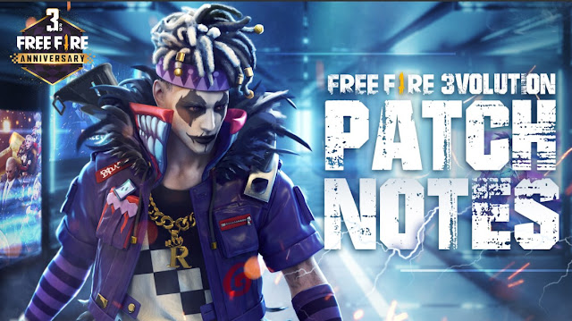 Patch Notes Update Free Fire 3volution 29 Juli 2020