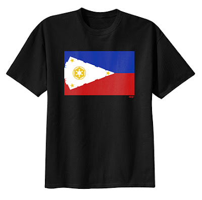 "Star Wars ""Empire Islands"" Philippines Flag T-Shirt by Sket One"