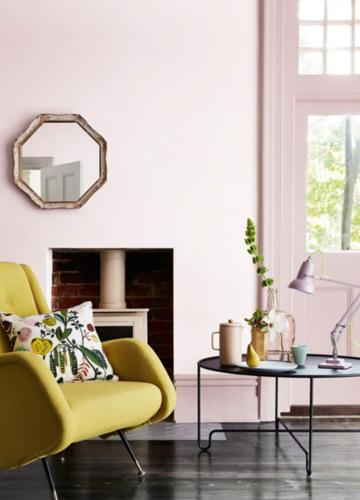 New Colour-Blocking: Rosa kombiniert mit kräftigen Tönen