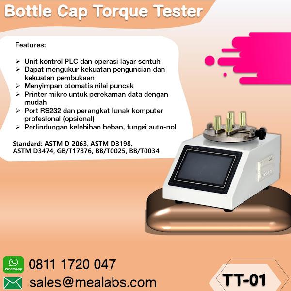 TT-01 Cap Torque Tester