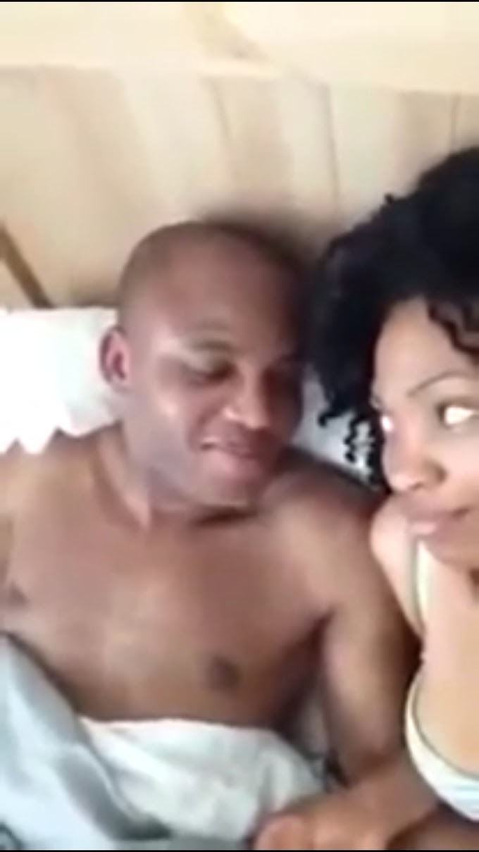 (Video) Hotel tape of Nnamdi Kanu, the leader of IPOB with a woman has been leaked