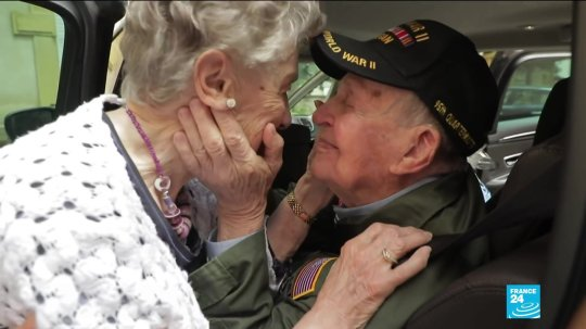They Fell in Love During WW2, Separated, and Reunited 75 Years Later