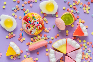 السكر للأطفال