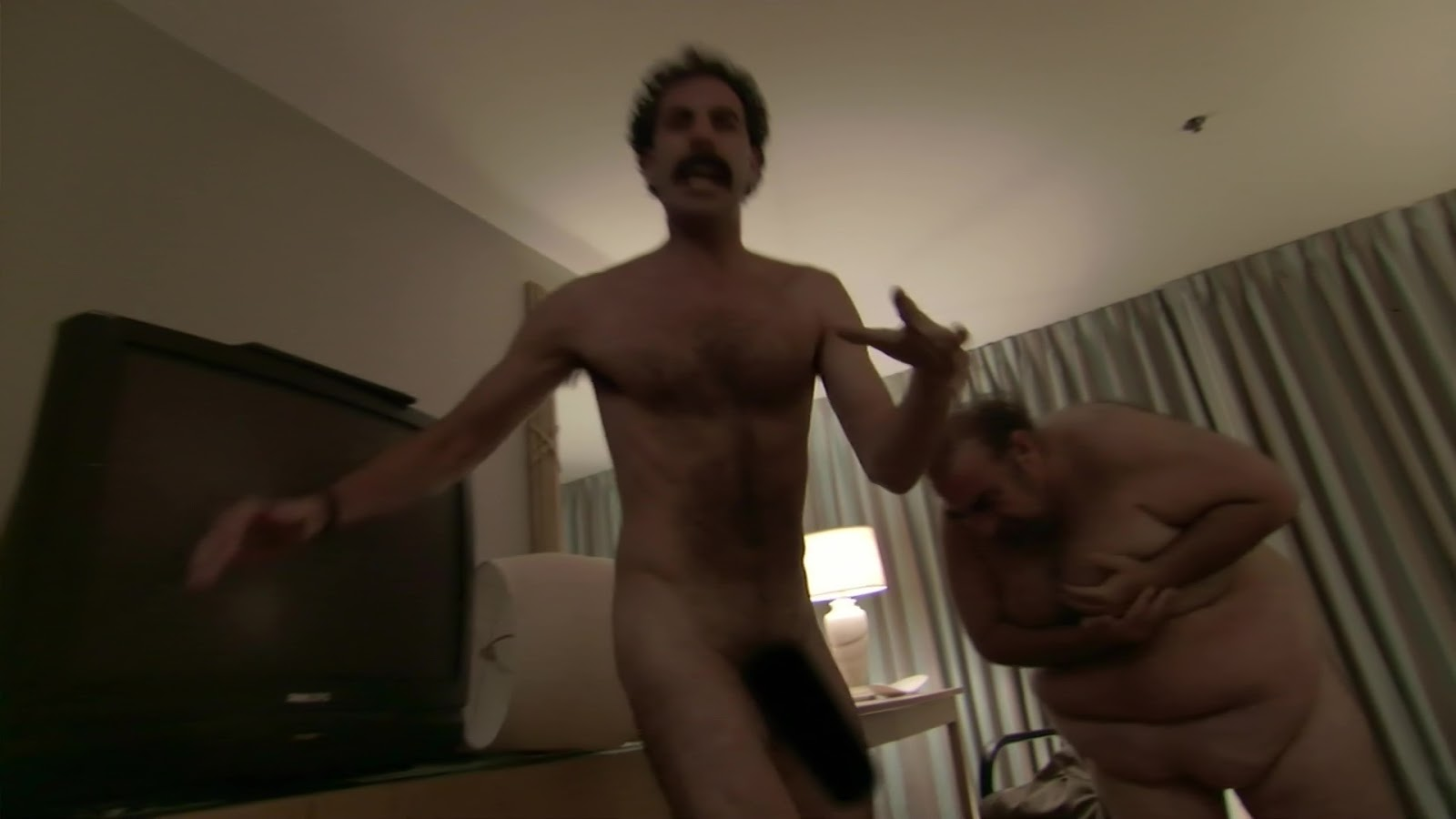 Borat and azamat fight because they are idiots