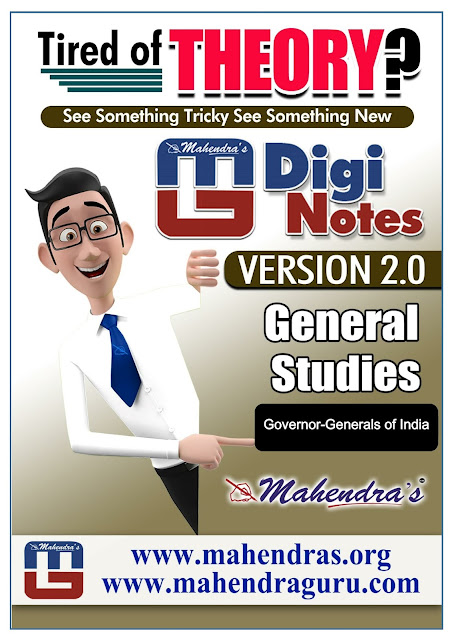 Digi Notes - 2.0 | Governor-Generals Of India | 04.11.2017