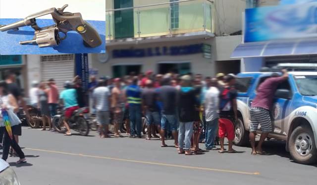 Homem é morto ao tentar roubar farmácia em Barra da Estiva