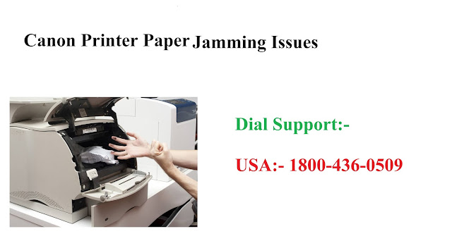 How To Fix Canon Printer Jamming Issues