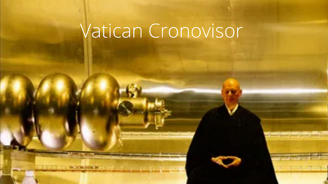 This is a Cronovisor that can see the future and the past.